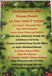 Christmas-in-July Dinner Dance