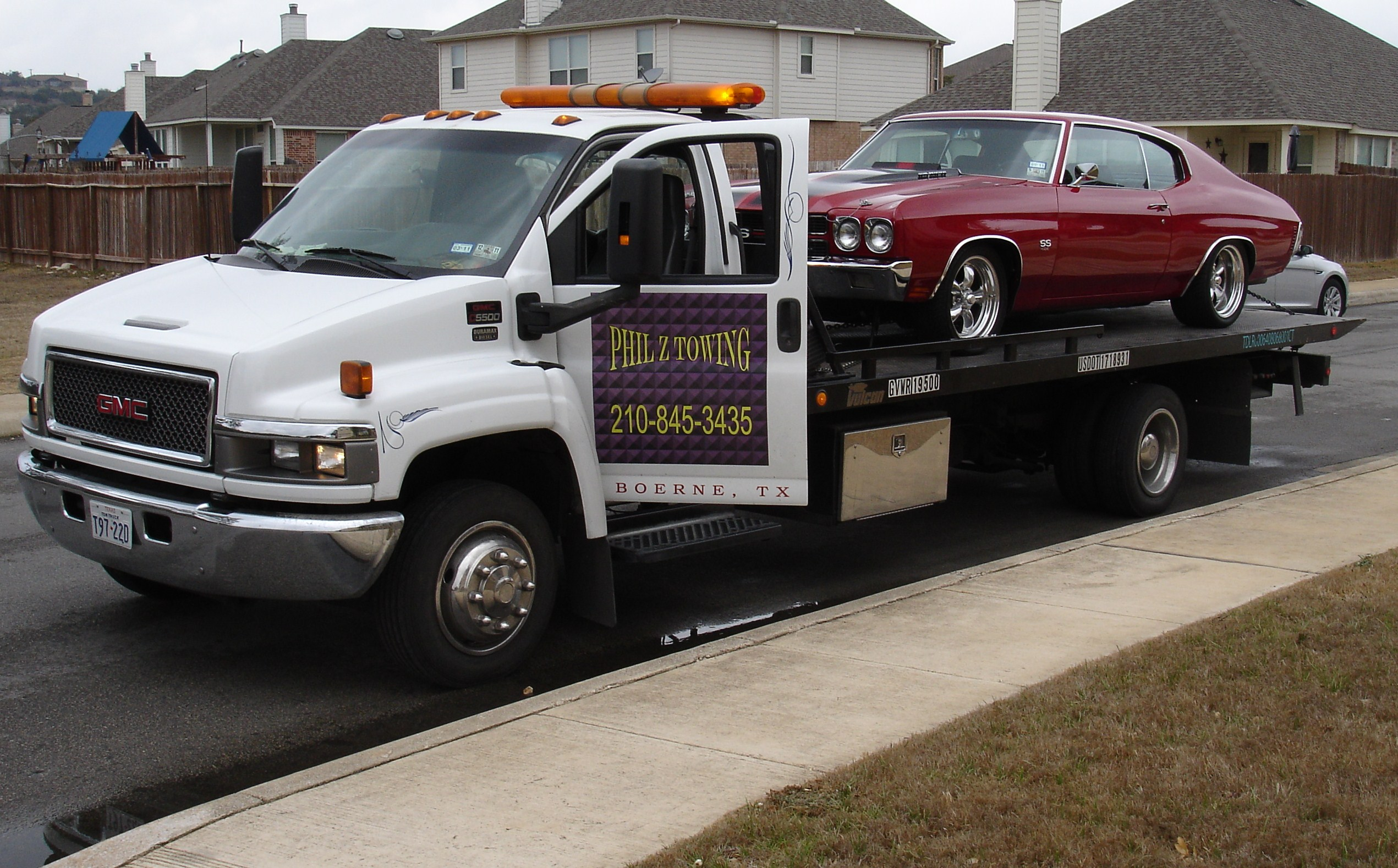Towing Car Phil Z Towing | Flatbed Towing San Antonio/towing Service