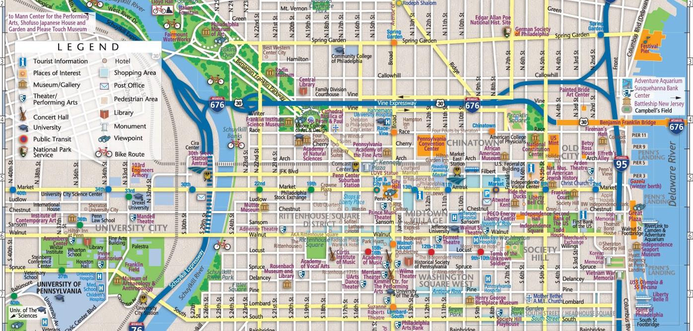 Philadelphias Historic Districts Phindie - Historic philadelphia map
