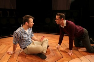 1. Wes Haskell stars as John and John Jarboe is M in Theatre Exile's COCK (Photo credit: Paola Nogueras)
