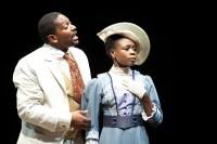 Lance Coadie Williams and Zainab Jah in Wilma Theater's THE CONVERT. Photo by Alexander Iziliaev.