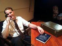 Russ Widdall as RFK.