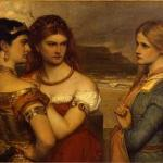 The Daughters of King Lear - James Archer