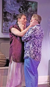 Jered McLenigan, David Bardeem in RITU COMES HOME. Photo by Kathryn Raines