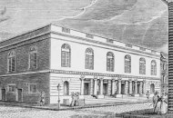 The Walnut opened as a circus theater in 1809.