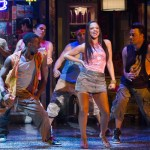 Gizel Jimenez and ensemble in the Walnut's 2013 show IN THE HEIGHTS. Photo credit: Mark Garvin.