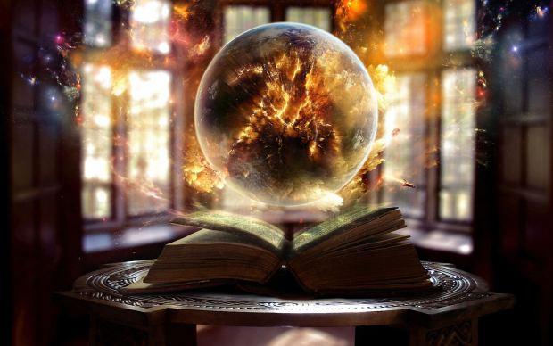 Globe, magic