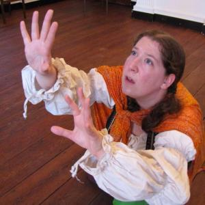 """Mechanical Theater's MASQUE OF POE features Melissa Amilani in """"Hop Frog"""" (Photo credit: Loretta Vasile)"""