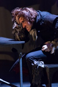 Matteo Scammell as the Beast in the Arden's BEAUTY AND THE BEAST (Photo credit: Mark Garvin)