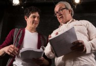 """Davy Raphaely and Bill Van Horn in """"A Life in the Theatre"""" at Walnut Street Theatre Independence Studio on 3. Credit: Mark Garvin."""