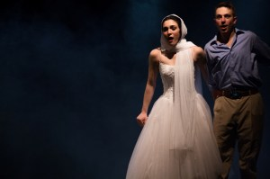 Lauren Berman and Craig O'Brien star in EgoPo's STAIRS TO THE ROOF (Photo credit: David Sarrafian)