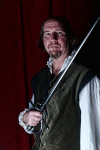 Brian McCann as Iago in Curio Theatre Company's OTHELLO (Photo credit: Kyle Cassidy)