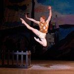 "Alexander Peters in George Balanchine's ""Prodigal Son."" Photo credit: Alexander Iziliaev."