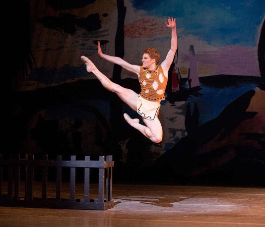 "Alexander Peters in George Balanchine's ""Prodigal Son."" Photo credit: Alexander Iziliaev."