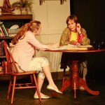 Kirsten Quinn and Renee Richman-Weisband star in Isis Productions' COLLECTED STORIES (Photo credit: Kristine DiGrigoli)