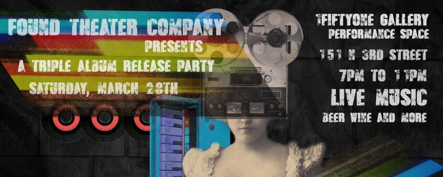 Found Theater Company's CD release party (Photo credit: Design by Matt Lorenz)