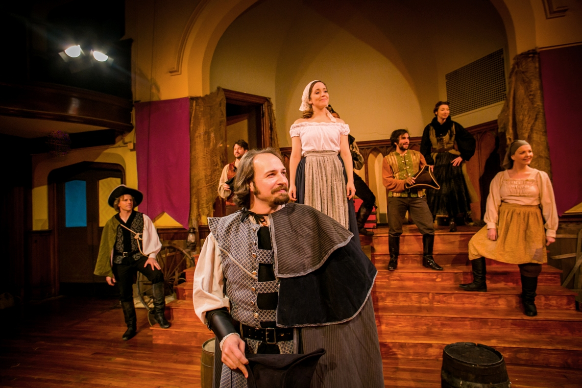 The ensemble of the PAC's THE FAIR MAID OF THE WEST (Photo credit: Ashley LaBonde, Wide Eyed Studios)