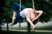 Undercover Circus in a West Philly Park: Tangle Movement Arts at Clark Park Farmers Market