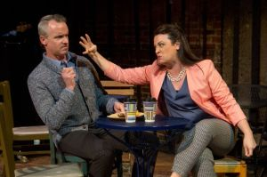 Paul McElwee and Erica Scanlon Harr in Mazeppa's CLOSER THAN EVER (Photo credit: Kelly Anne Pipe Design and Photography)