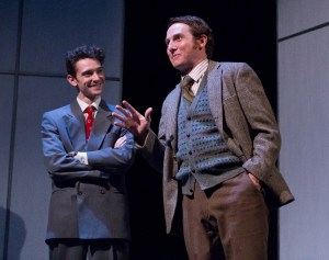 Trevor William Fayle and Harry Smith in Lantern's PHOTOGRAPH 51 (Photo credit: Mark Garvin)