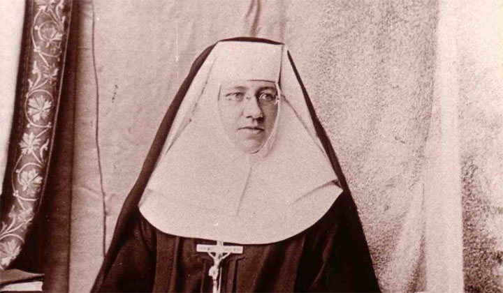 Sister Katherine Drexel of Philadelphia, canonized in 2000.