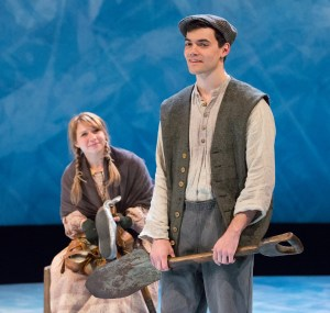 Lauren Hirte as Gretel and Brian Ratcliffe as Hans in Arden's HANS BRINKER AND THE SILVER SKATES (Photo credit: Mark Garvin)