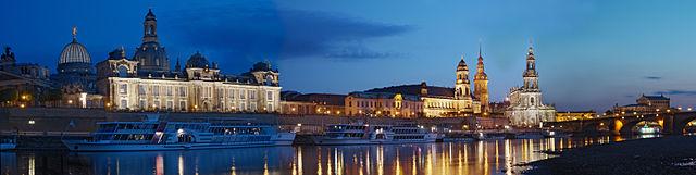 Modern-day Dresden.