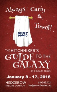 THE HITCHHIKER'S GUIDE TO THE GALAXY (Hedgerow): Resistance (to fun) is Useless