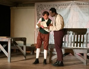 Damon Zarro and Gregory Holmes Jr.  in YOUNG FREDERICK DOUGLASS (Photo credit: Jen Jaynes)