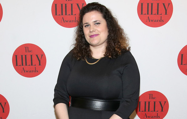 Genne Murphy at the Lilly Awards, photo by Walter McBride