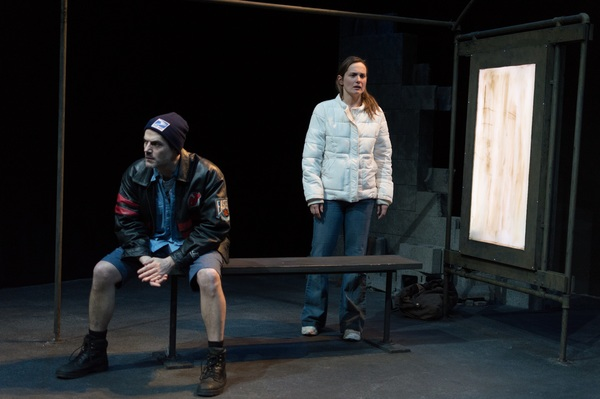 Allen Radway and in Maryna Majok's IRONBOUND from Simpatico Theatre Project.