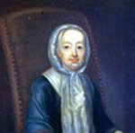 Portrait of Hannah Callowhill Penn, c. 1740–1742. Attributed to John Hesselius (1728-1778).