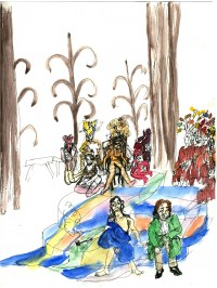 Theater in Sketch: PEACEABLE KINGDOM (Orbiter 3)