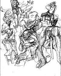 Fringe in Sketch: MARX IN SOHO (Iron Age)
