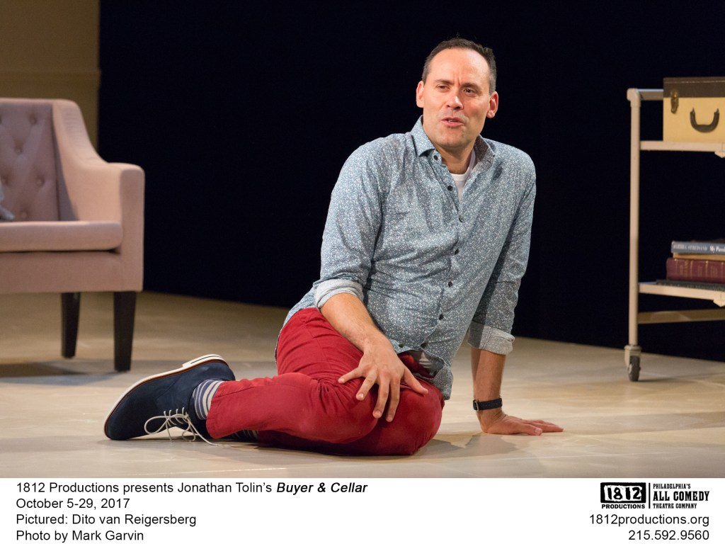 Buyer & Cellar 1812 Productions Toby Zinman review