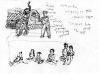 Dance in Sketch: Kun-Yang Lin/Dancers open studio