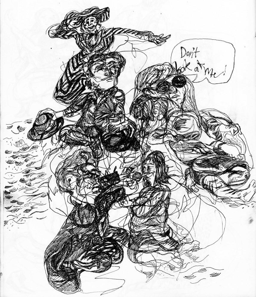 Theater in Sketch: LYDIE BREEZE Part 3: MADAKET ROAD (EgoPo) | phindie