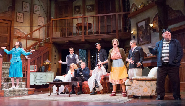 NOISES OFF at the Walnut Street Theatre. Photo by Mark Gavin.