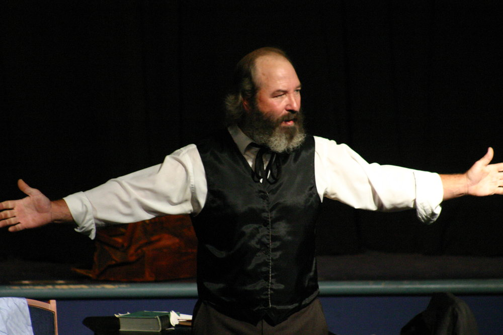 Bob Weick as Marx, Arms Out