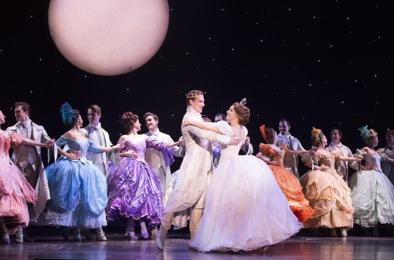 Cast of Rodgers + Hammerstein's Cinderella. Photo credit: Carol Rosegg.