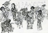 Theater in Sketch: THREE SISTERS TWO (EgoPo)