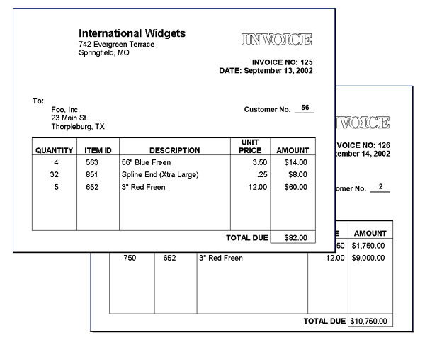 446382330731 - Sample Personal Invoice Word Gross Receipts Tax Nm - how to create an invoice in word