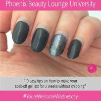 Phoenix Beauty Lounge University: 10 Easy Tips for a Long-Lasting Gel Manicure