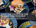 Save the Date for The Slider Throwdown