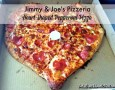 Jimmy & Joe's Heart Shaped Pizza