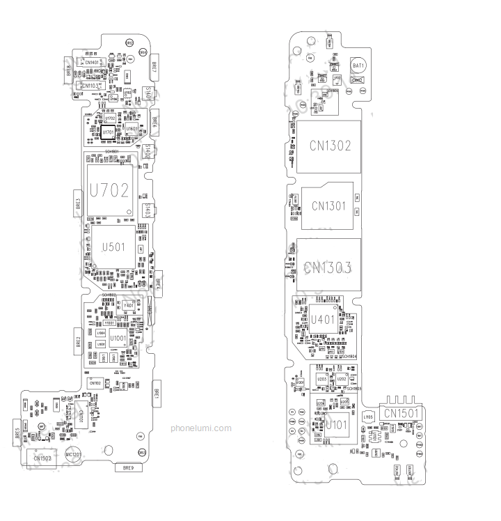 diagram nokia 1134