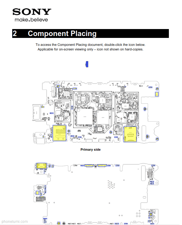sony z3 compact diagram