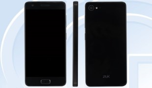 ZUK Z2 with Snapdragon 820 SoC & 8MP Selfie Camera Listed on TENAA