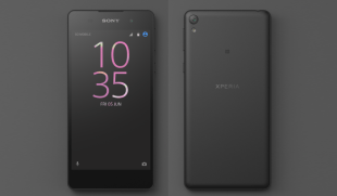 Sony Xperia E5 with 13MP Camera & Android 6.0 Marshmallow Spotted in Official Renders