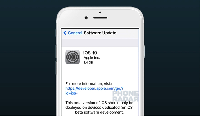Download iOS 10 Software Update